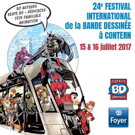 Festival International de la bande dessinée à Contern