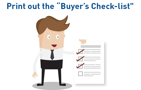 Pre-owned car buyer's check-list