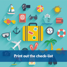 Holiday essentials check-list